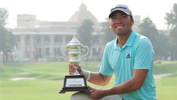 Rory Hie makes Asian Tour history