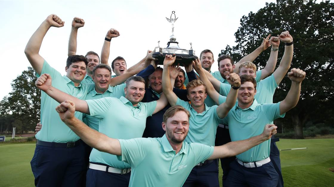 Ireland secures dramatic R&A Men's Home Internationals win