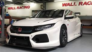 TCR Honda racer arrives in Sydney