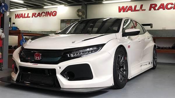 TCR Honda racer arrives in Sydney