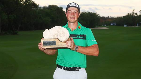 Hovland claims second PGA Tour win