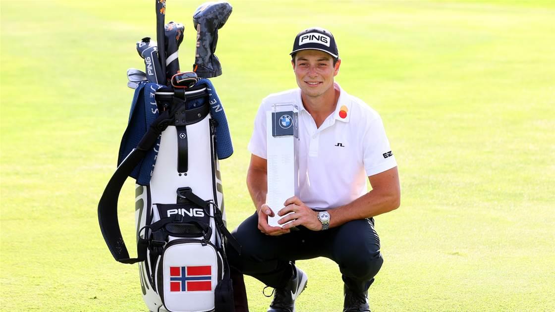 Winner's Bag: Viktor Hovland – BMW International Open