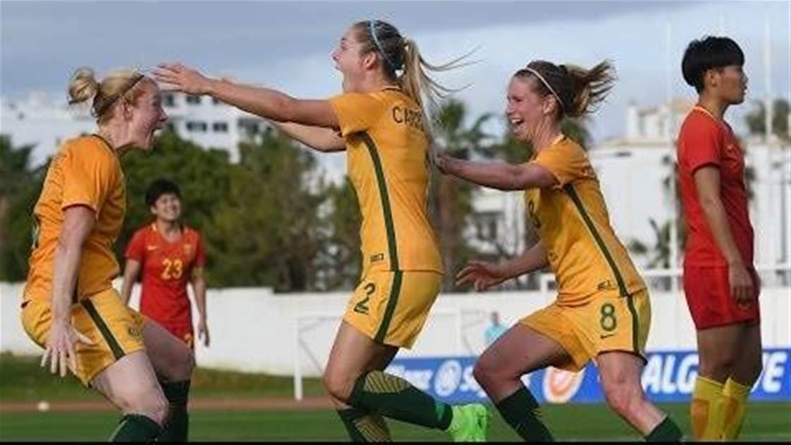 Our favourite Matildas moments: Ellie Carpenter