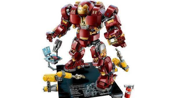 Lego and the year's biggest movie combine for The Hulkbuster: Ultron Edition set