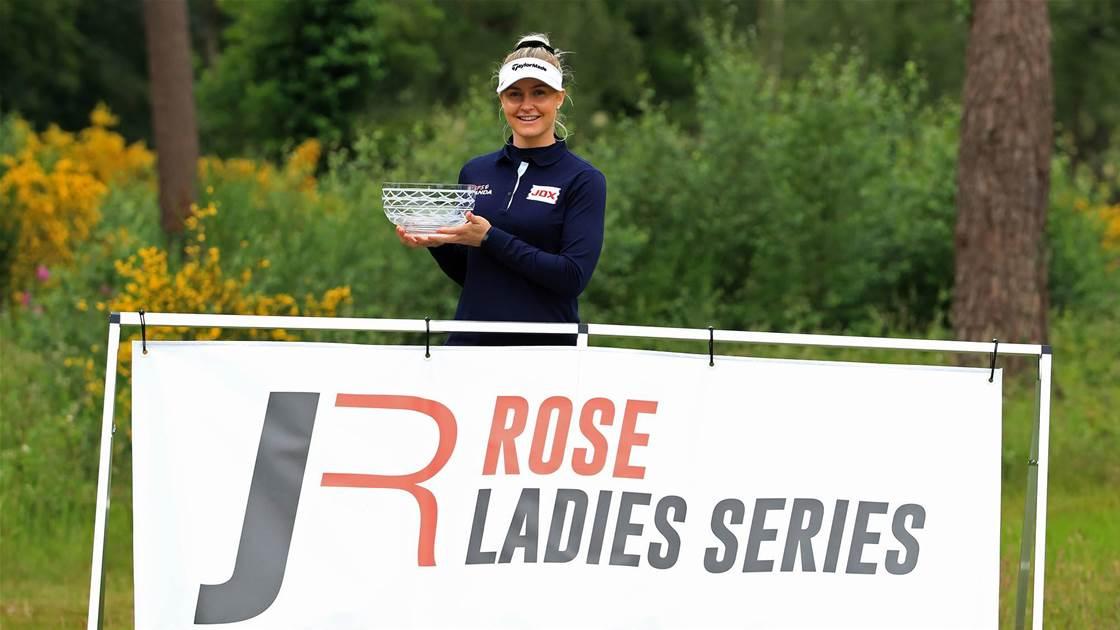 Winner's Bag: Charley Hull – Rose Ladies Series at Brokenhurst Manor