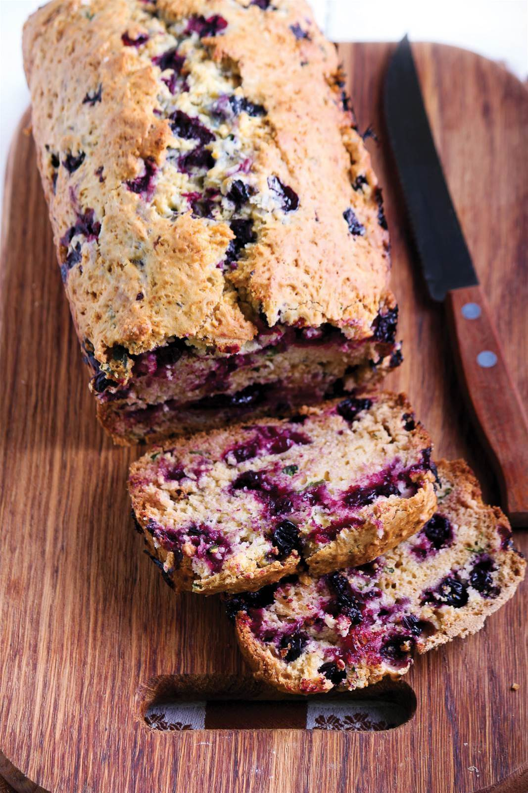 Date, Bran and Blueberry Bread