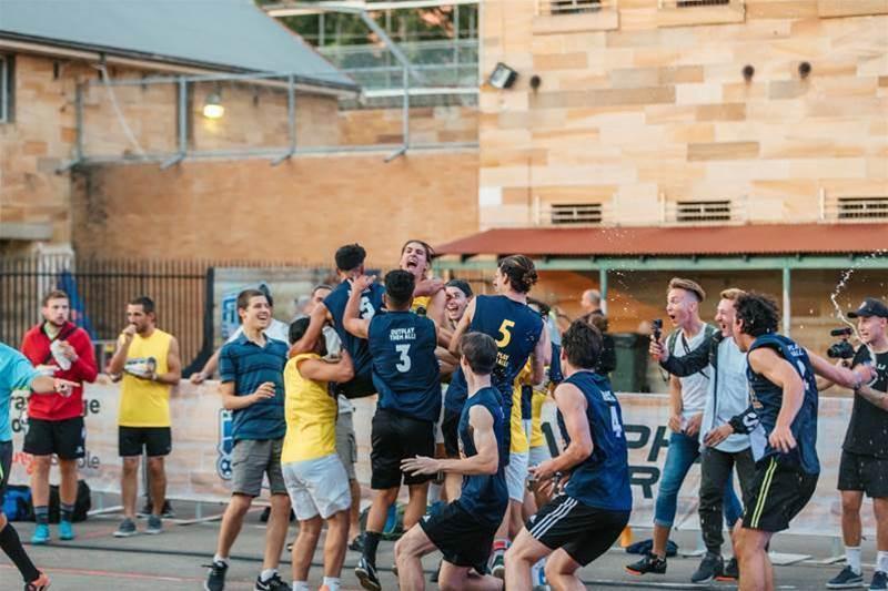 Aussie teams make world's largest five-a-side finals