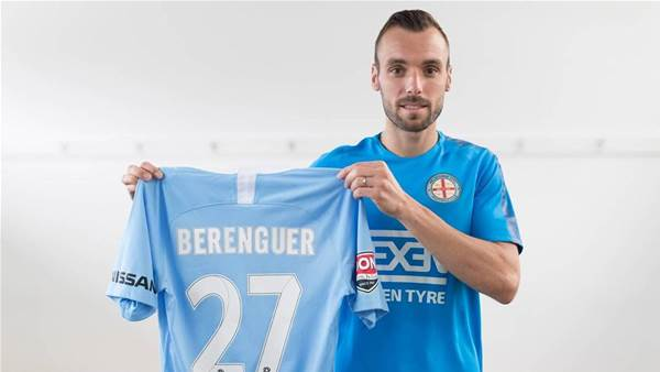 City add French flair signing