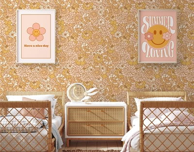minnie and me's removable wallpaper