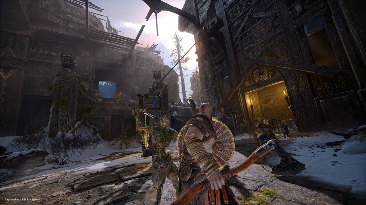 God of War will allow for some HUD control