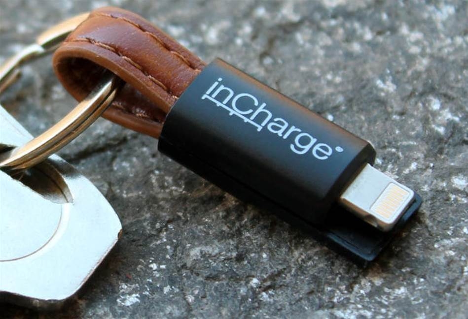 inCharge All in One is a charging cable for your keychain that can connect any device to USB