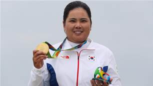 Defending champion Park relaxed ahead of Tokyo