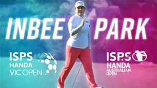 Inbee Park returns to Australia for summer of golf