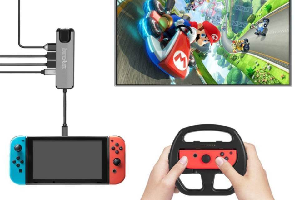 This innoAura Nintendo Switch dock is a great alternative to the official version