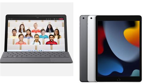 Apple iPad (9th Gen) vs Microsoft Surface Go 3