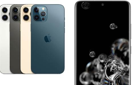 Apple iPhone 12 Pro Max vs. Samsung Galaxy S20 Ultra