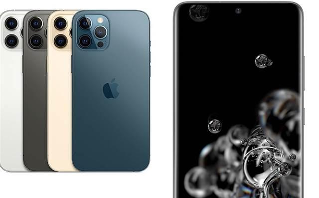 Apple iPhone 12 Pro Max vs. Samsung Galaxy S20 Ultra: Head-to-head