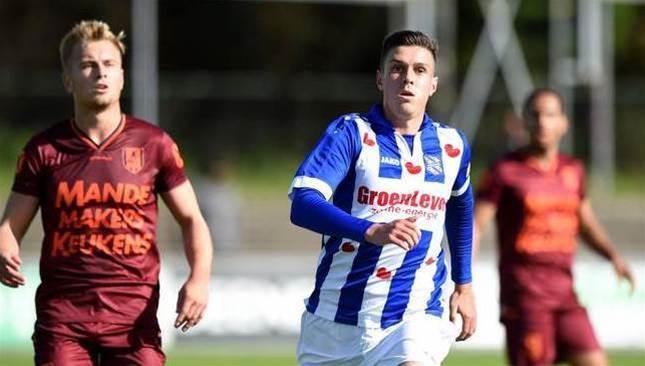 Aussie striker bags Dutch double