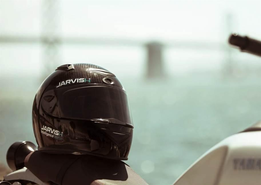This Alexa-powered motorbike helmet will make you feel like Iron Man