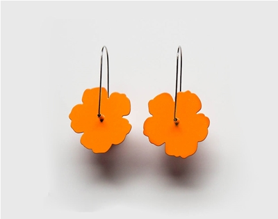 win a pair of jess dare's nasturtium earrings