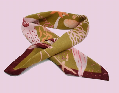 win a silk scarf from australian artist jess hall