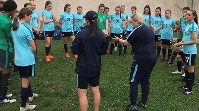 Dower names her squad for Junior Matildas camp