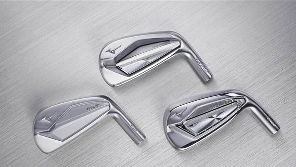 New Mizuno irons with a material difference