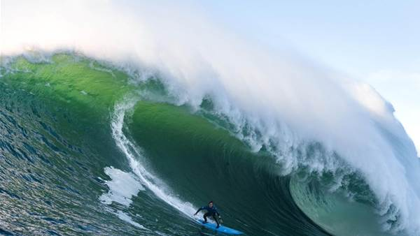 Mavericks Muscles in on WSL Big Wave Awards