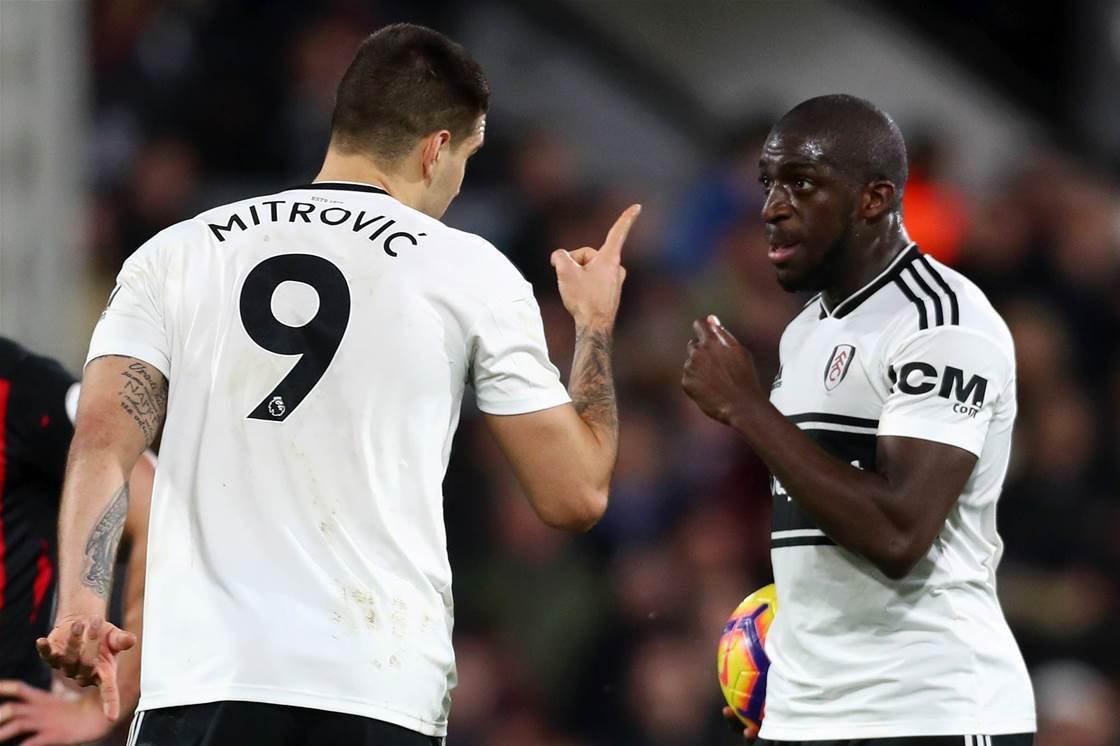 Fulham ban Aboubakar Kamara after arrest at training ground