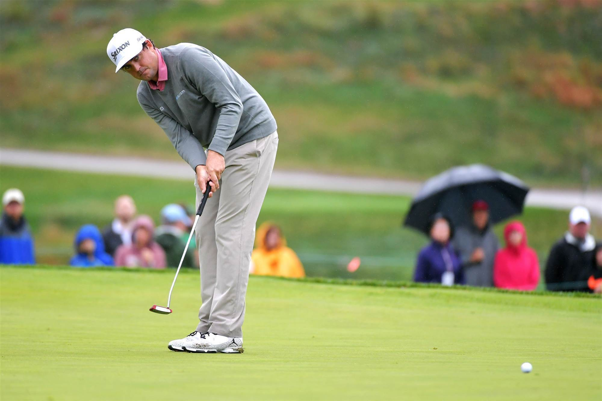 Keegan Bradley rolling towards Sydney