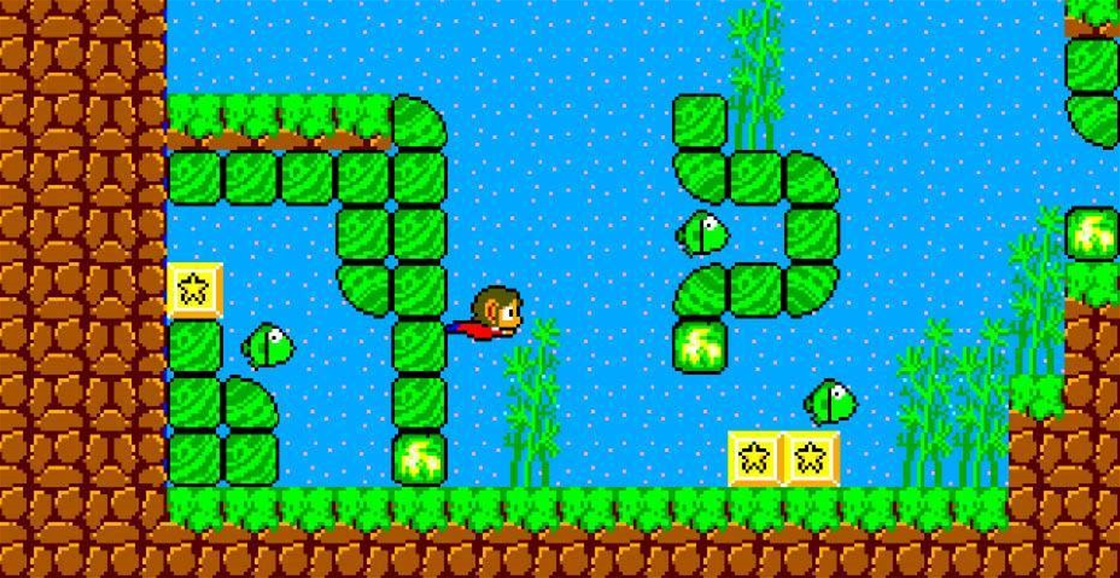 Playing Now: Alex Kidd in Miracle World DX