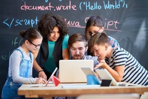 NSW premier unveils coding challenge for schools