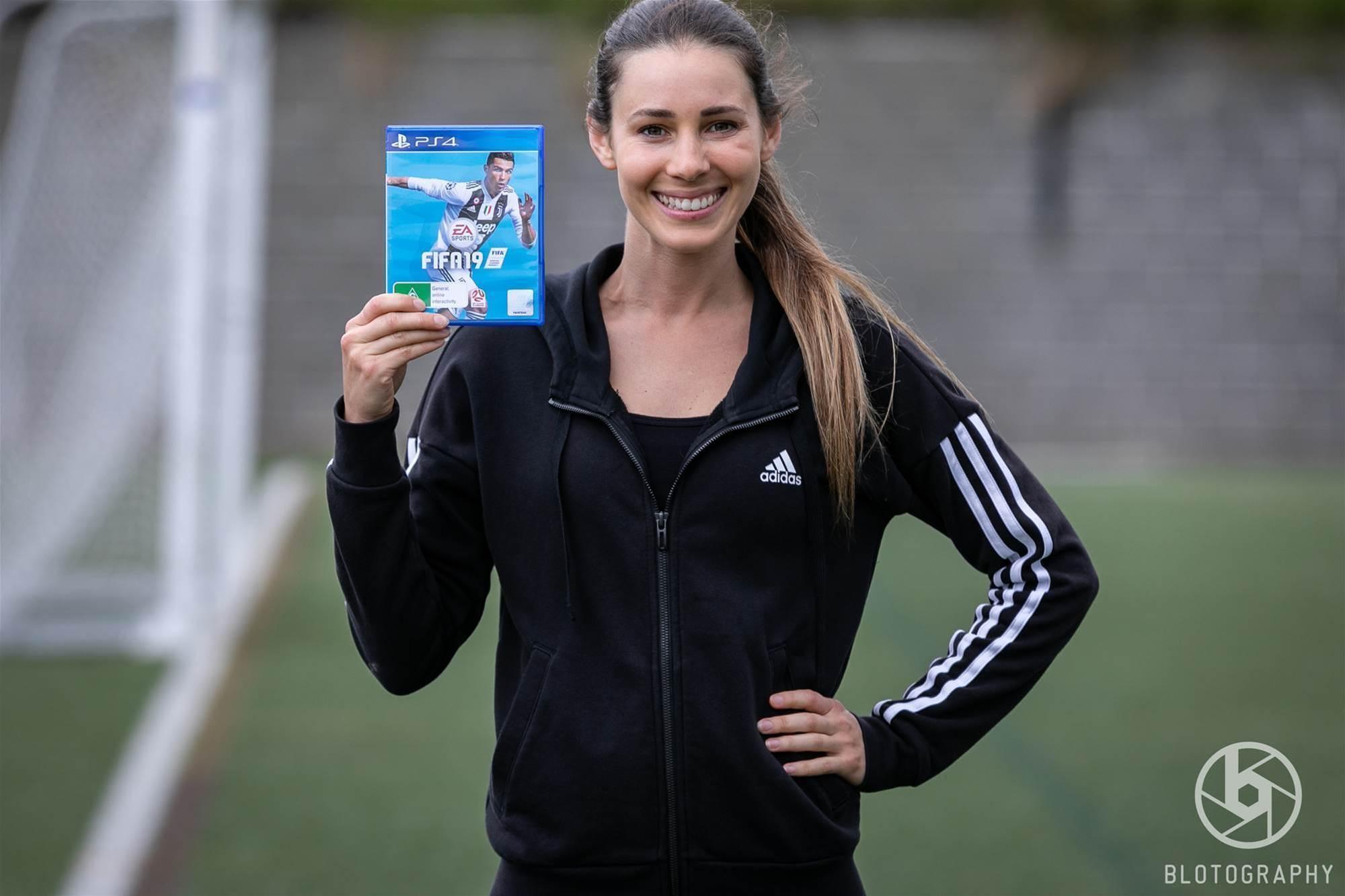 Meet Lisa Solberg: FIFA 19's Kim Hunter