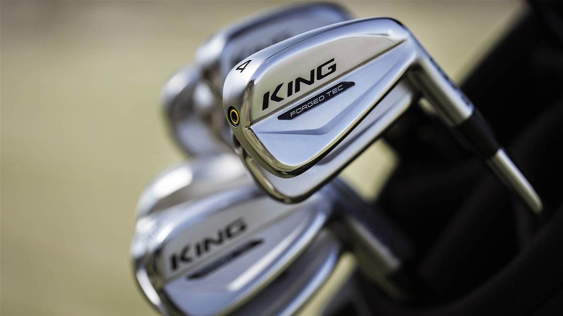 Cobra blends performance and looks with King Forged Tec irons