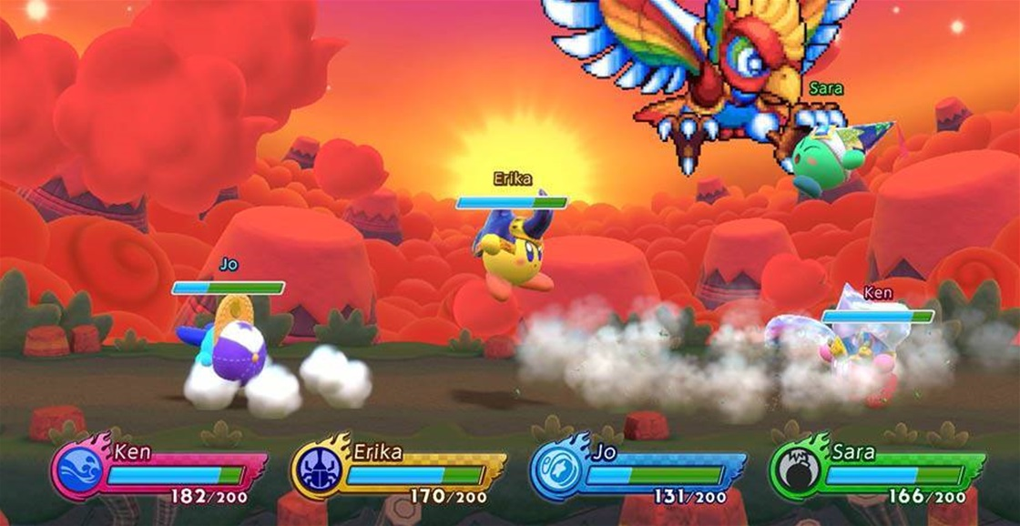 Playing Now: Kirby Fighters 2