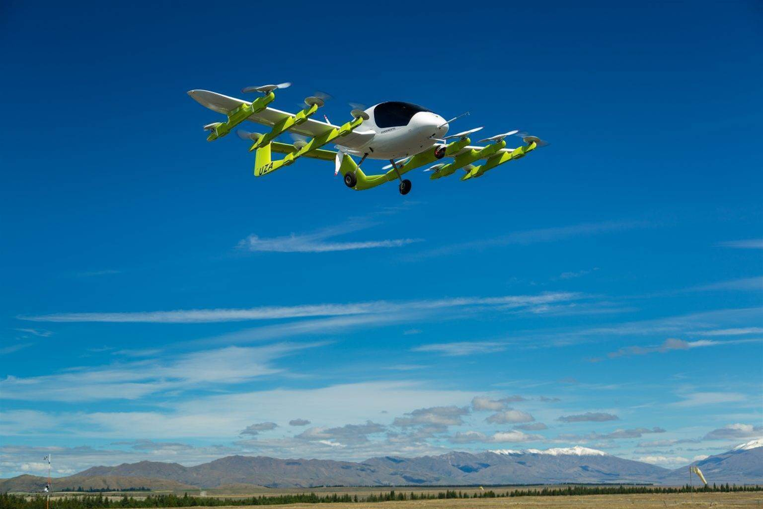 Larry Page-backed driverless flying taxis take off in NZ