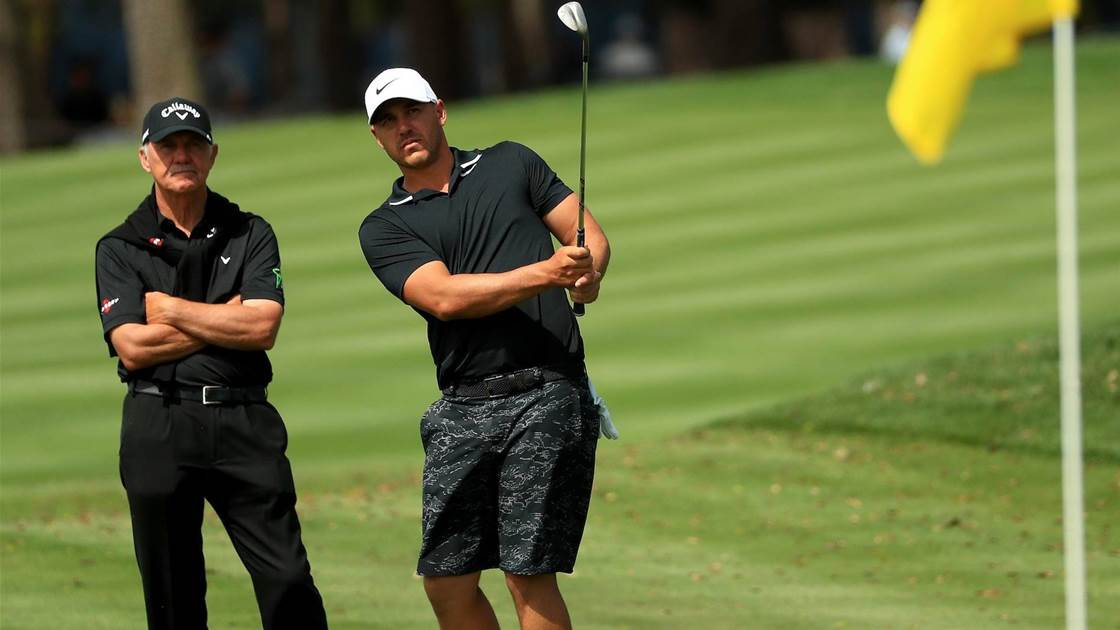 Koepka flies for lesson before Players