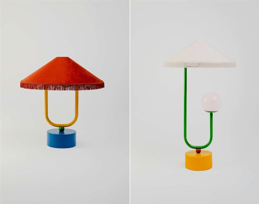 get a load of these glam lamps