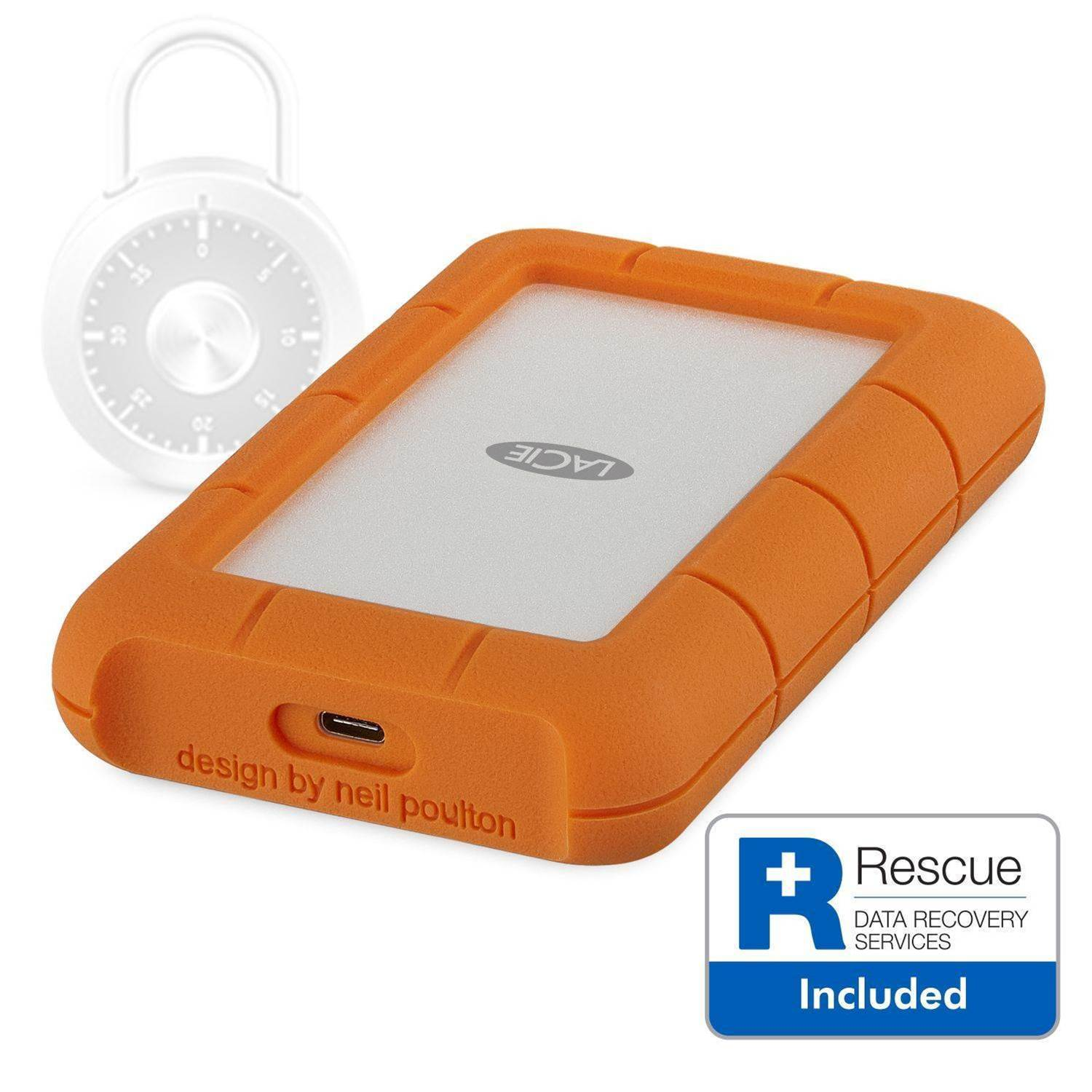 Review: LaCie Rugged Secure 2TB External Hard Drive