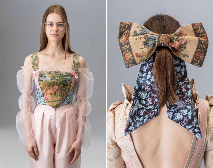 fairytale duds made from antique tapestries
