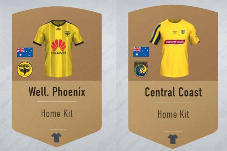 Mariners and Phoenix kits potentially leaked