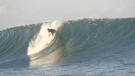 Window to Indo: When Being Surfed Out Is All You Have to Worry About.