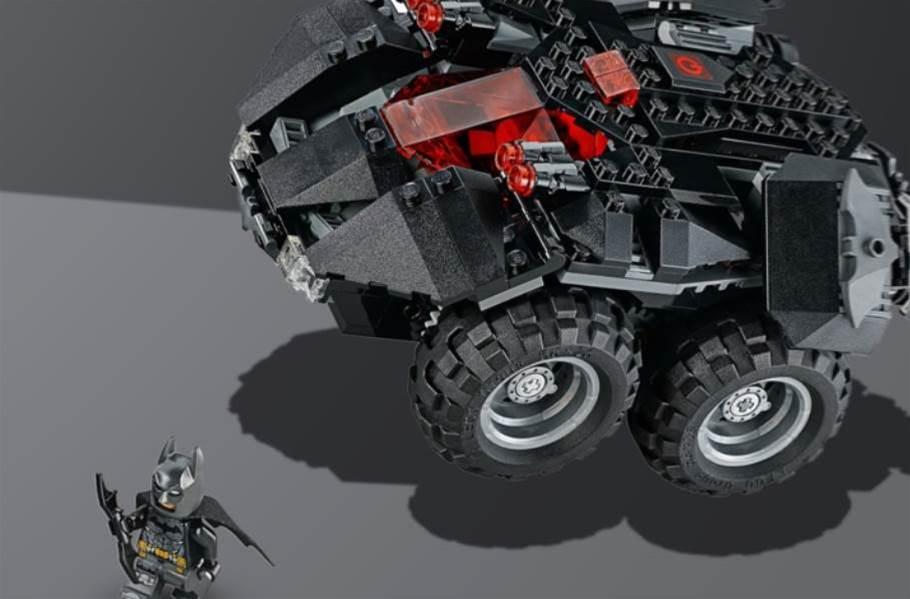 Lego's app-controlled Batmobile could be 2018's must-have toy