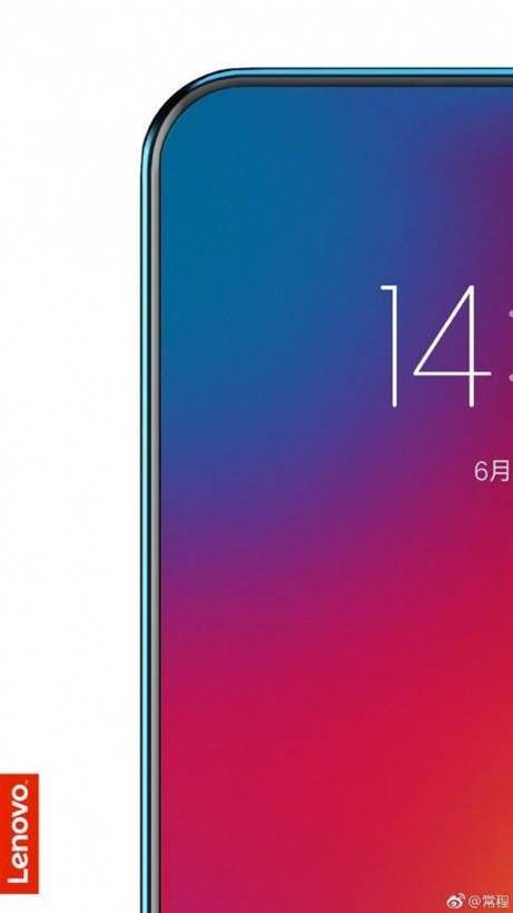 Lenovo teases true all-screen phone