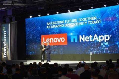 Lenovo teams with NetApp for storage portfolio shakeup