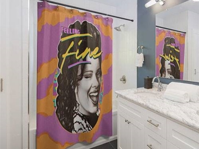 a damn fine shower curtain
