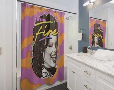a damn fine shower curtain