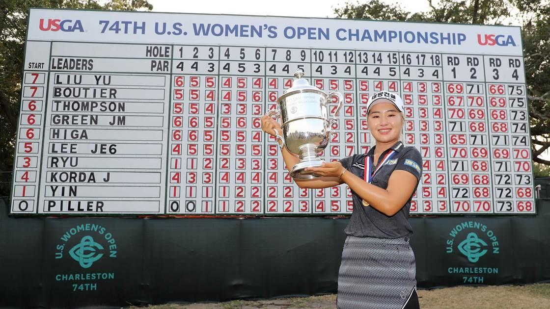 Jeongeun Lee6 wins US Women's Open