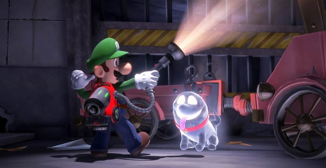 Happy Halloween! Luigi's Mansion 3 Is Out Now