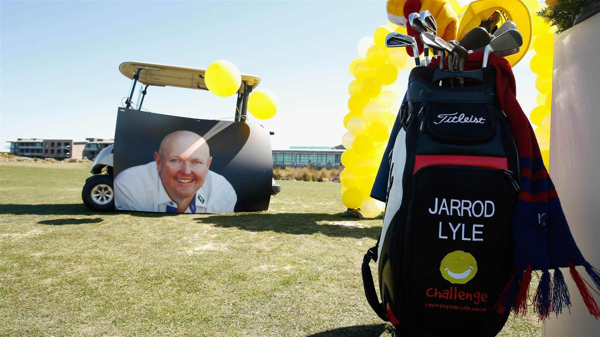 Jarrod Lyle celebrated at memorial service